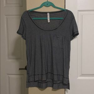Lululemon Striped Tee